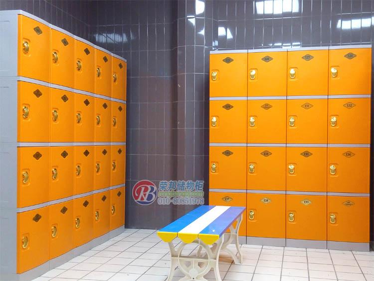 健身房abs更衣柜储物柜浴池柜宿舍更衣柜员工柜塑料 -价格,厂家,